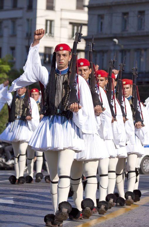 Greek Presidential Guard, Athens