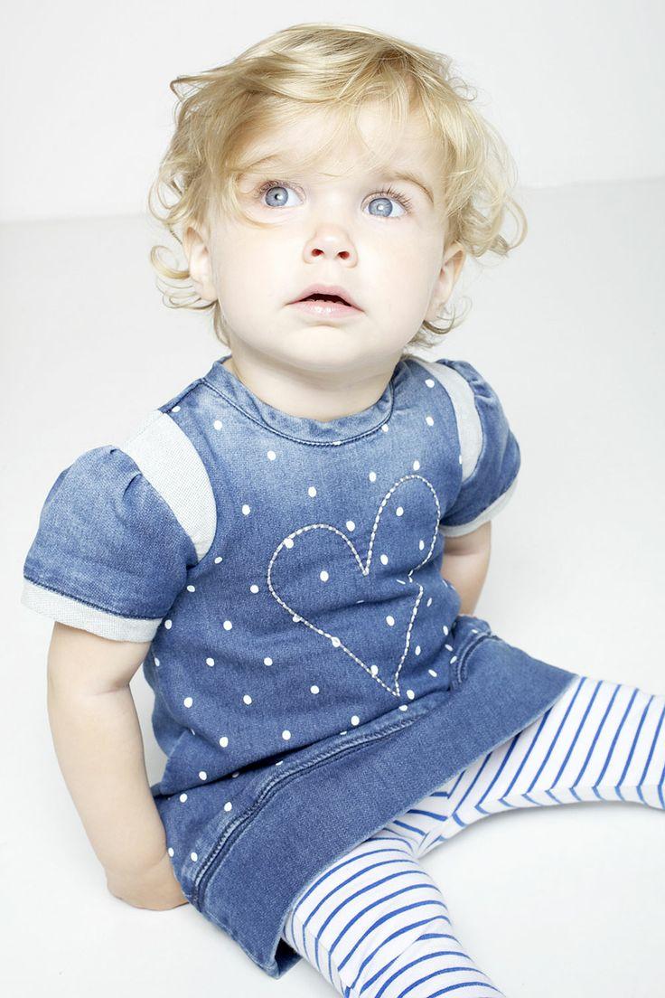 Babykleding Lief jurkje | www.kienk.nl | Tumble N Dry | Cute