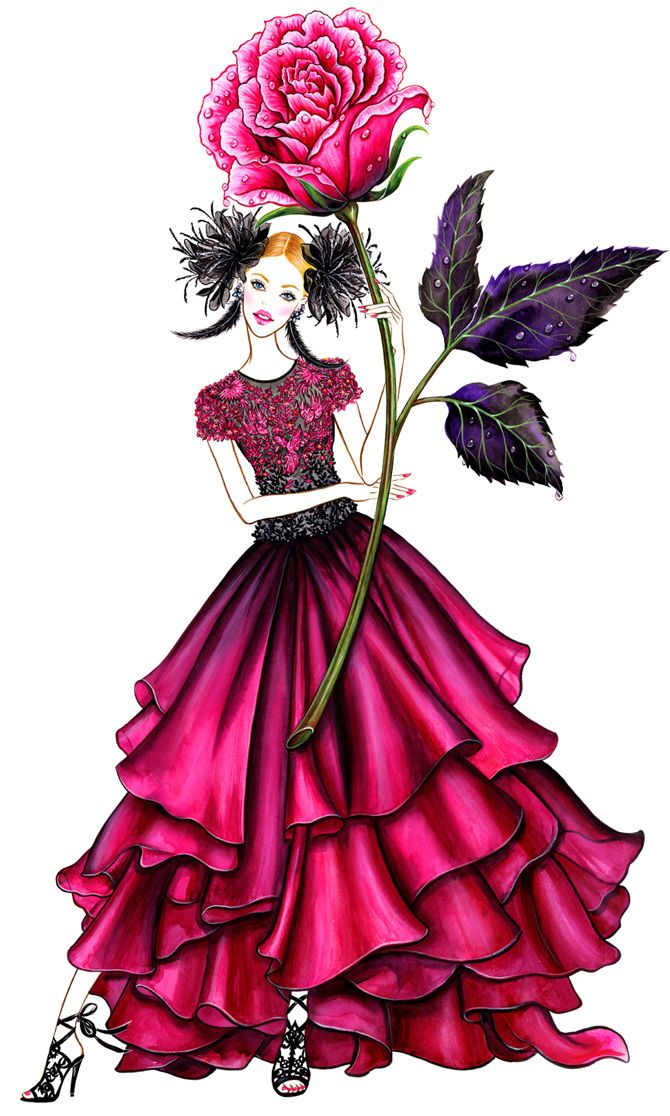 Flower Mood (series) - Sunny Gu: Rose