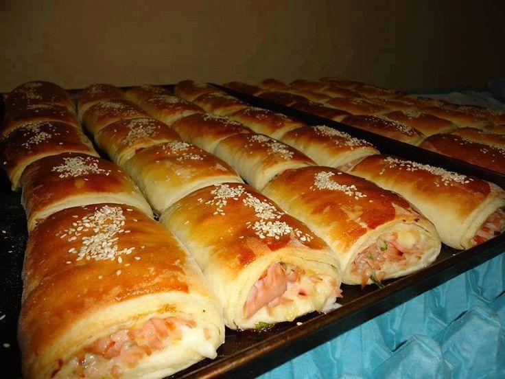 Pão Salgado Fácil, aprendam a fazer essa receita super prática e ficam deliciosos esses pães, se você gosta de fazer para vender, anote essa receita