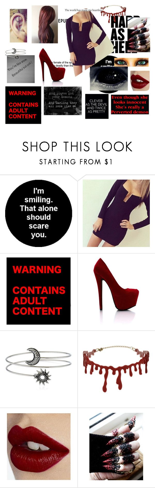"""Random #105"" by kianna8642 ❤ liked on Polyvore featuring HUF, Topshop and Charlotte Tilbury"