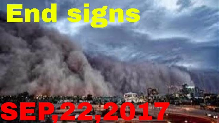 END TIMES SIGNS: LATEST EVENTS AND NEWS (SEP 22, 2017) HURRICANE MARIA, ...