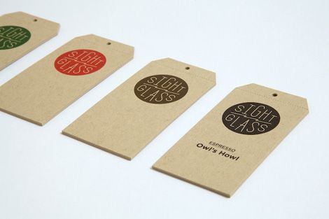 Identity and Tags for Sight Glass by Everything-Type-Company