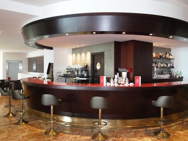 Bar.  Hotel Angela. Fuengirola, Costa del Sol. SPAIN