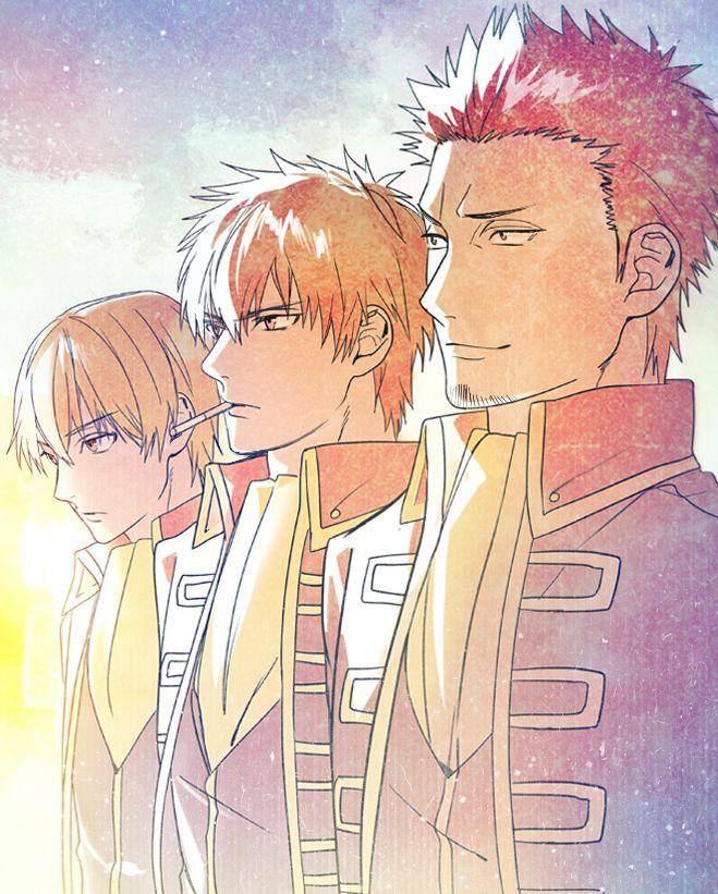 Gintama Shinsengumi... Okita Sougo, Hijikata Toushirou, Kondo Isao