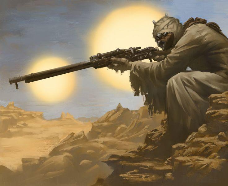 Star Wars- Slugthrower - Fantasy Flight Games by Rilez75