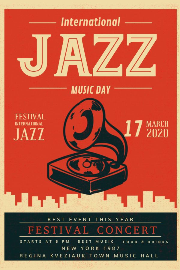 Classic Jazz Poster