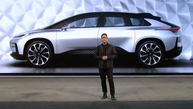 Watch Faraday Future\'s New Electric Car Smoke A Tesla Model S P100D