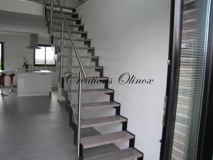 17 meilleures id es propos de escalier 2 quart tournant for Type d escalier interieur