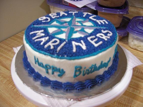 Seattle Mariners Birthday Cake