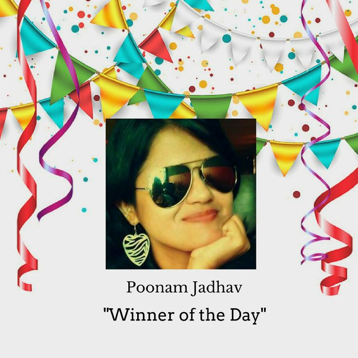 Heartiest Congratulations to Poonam. All the best for the next riddle. #timeforpet #contestalert #contest #timeforcontest #riddle #solveitwinit #bangalore #tuesday