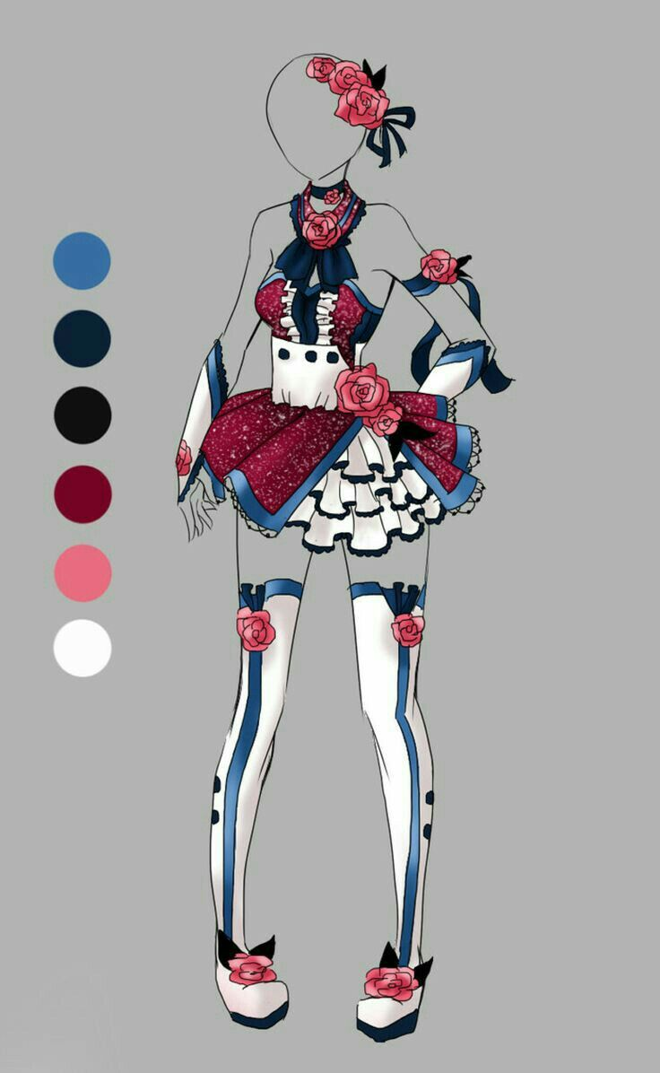 This is if Ciel Phantomhive was a magical girl right?  Fashion