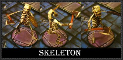 Fantasy RPG - Skeleton Free Papercraft Download