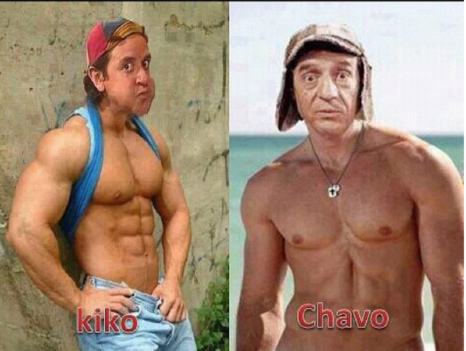 kiko y el chavo si hubieran conocido power plate hubieran. Black Bedroom Furniture Sets. Home Design Ideas