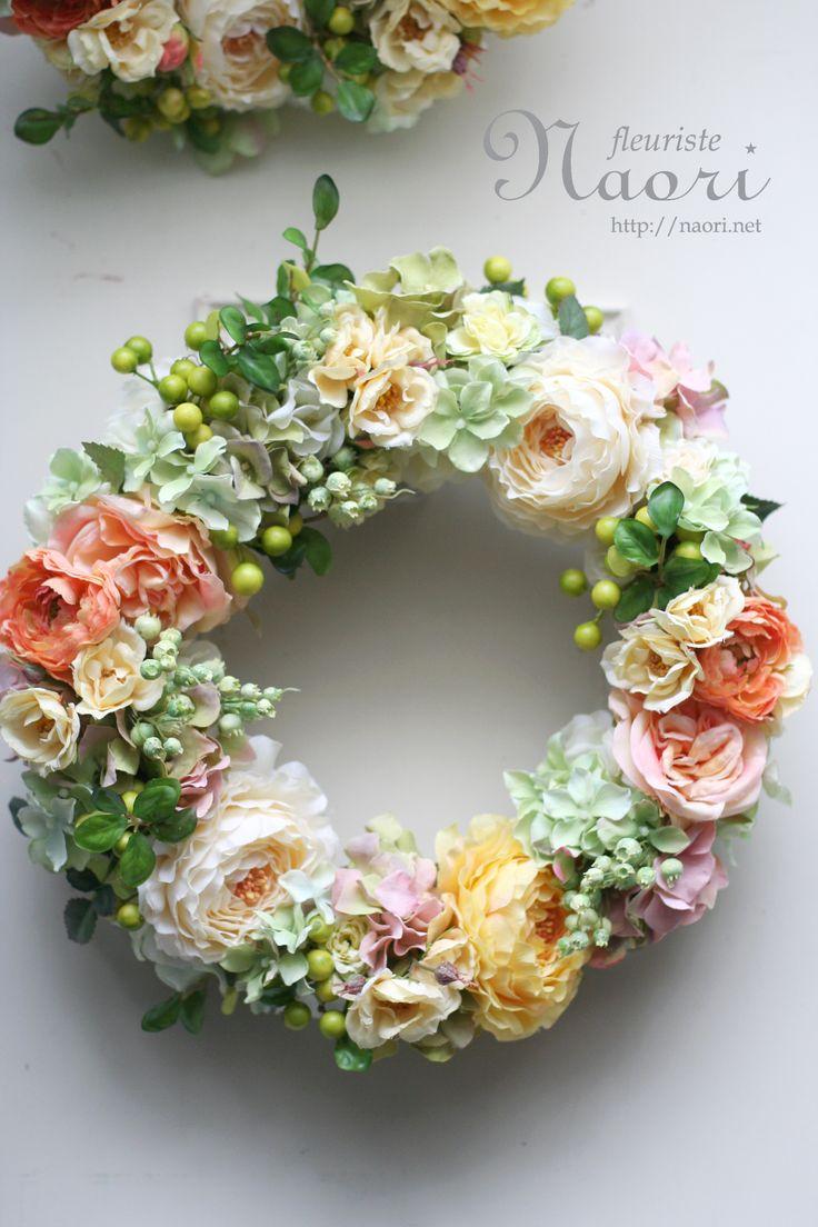 結婚式 ご両親への贈呈用リース artificial flower 2013 10 24