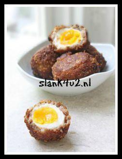 Schotse eieren - Slank4u2