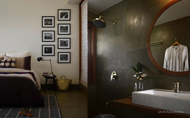 Interiors of the Flyover Farmhouse.Mumbai