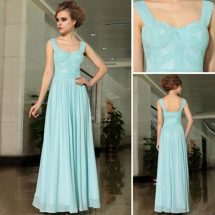 The Formal Shop - - BALL DRESS - BLUE DIAMANTE $254.00 FREE SHIPPING WORLDWIDE! www.theformalshop.co.nz