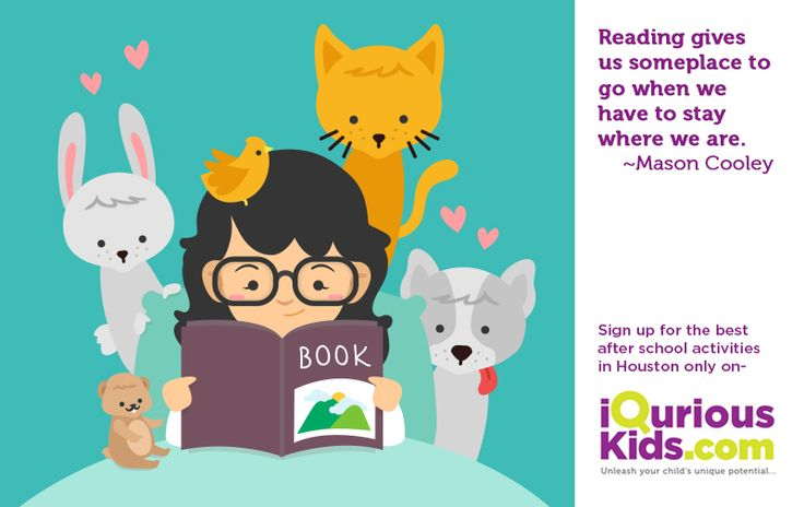 Your kid's voracious reading may make them best selling writers. Explore reading classes on buff.ly/2eQYgrQ #KidsCreativePrograms