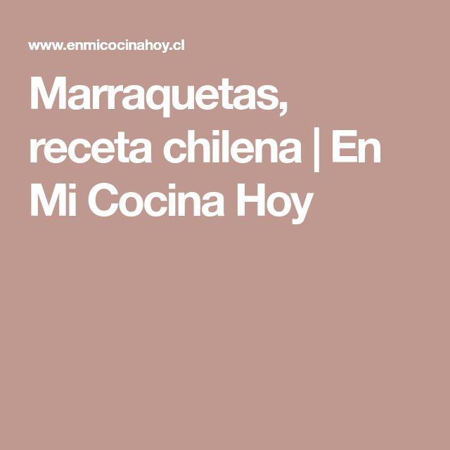 Marraquetas, receta chilena   En Mi Cocina Hoy