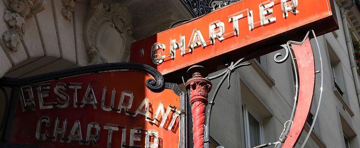 Restaurant Bouillon Chartier – Restaurant traditionnel à Paris - Accueil