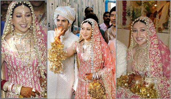 Famous Bollywood Divas and their Wedding Day Look - BollywoodShaadis.com