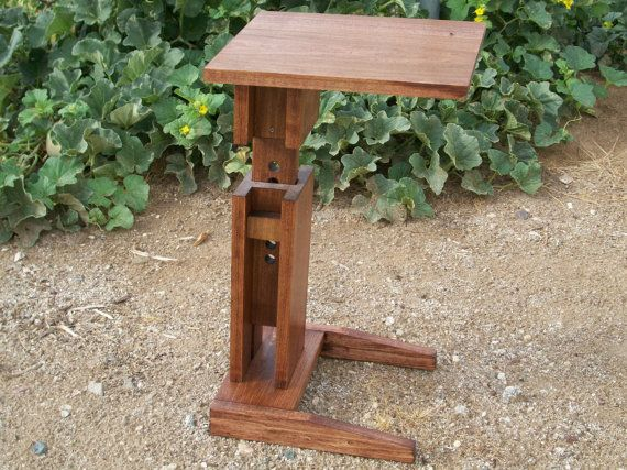 Sofa Table TV Tray Desk Plant Stand With By Splinterwerx, $125.00