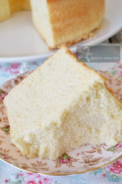 Ultra weiche Vanille Milch Chiffon Kuchen