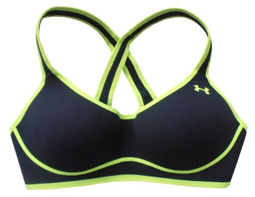 Under Armour Fitness Women's Dynamo Sport Bra Hi Impact Support 1240212 $35.99 (28% OFF)  #UnderArmour