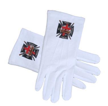 KNIGHTS OF TEMPLAR Masonic Gloves