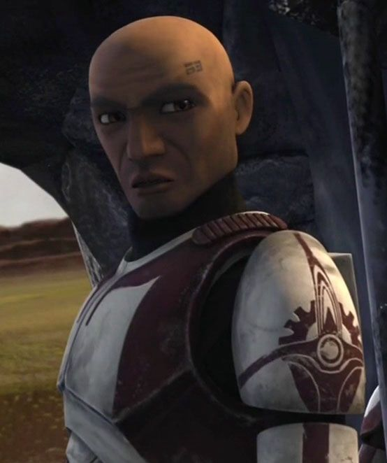 "CC-5869 (""Stone"") is a clone trooper commander who was part of the Coruscant Guard, and also the 91st Reconnaissance Corps, in the Galactic Republic, Galactic Empire, New Republic, Galactic Alliance, and then the Confederation of Free Planets. He was a good friend of CC-1010, the CG's head commander. Stone mostly worked on his own, but sometimes worked with Fox and CC-2009, the commander of another Coruscant defense force, the 52nd Star Corps. Stone preferred killing criminals instead of…"