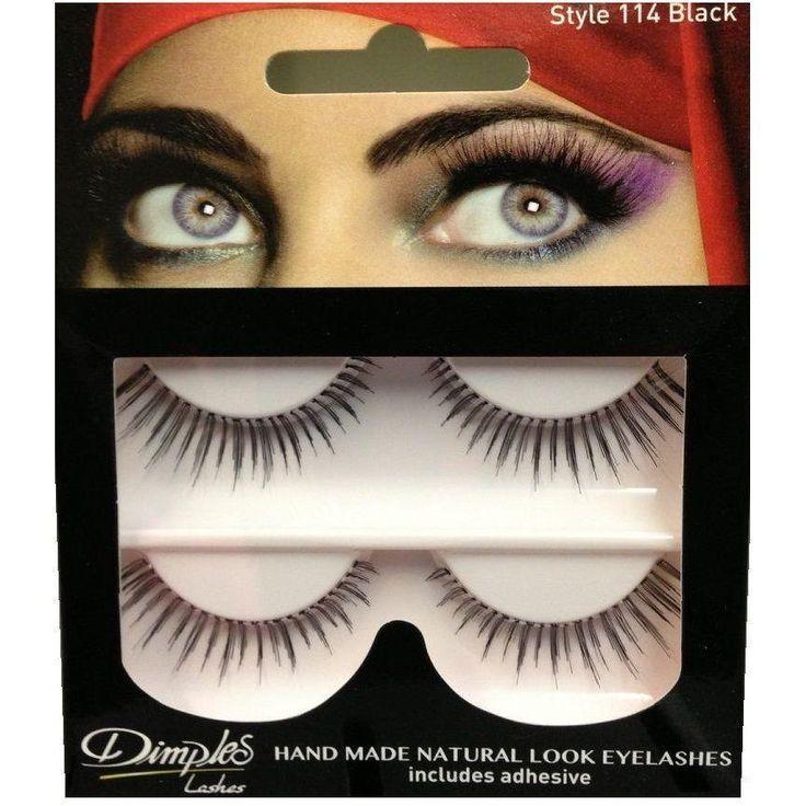 Buy Dimples False Eyelashes 114 Online at Cosmetics4uonline.co.uk - Cosmetics4uOnline.co.uk