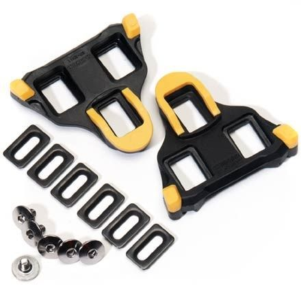 Replacement cleats for Shimano SPD/SL road shoes feature floating mode Available at REI, 100% Satisfaction Guaranteed.