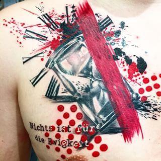 Hourglass tattoo trash  14 besten Tattoos Bilder auf Pinterest   Tattoo grafik, Tattoo ...