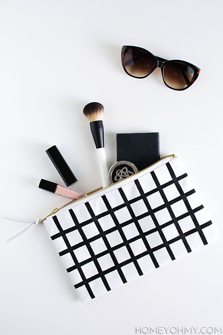 CLUTCH | DIY Grid Pouch