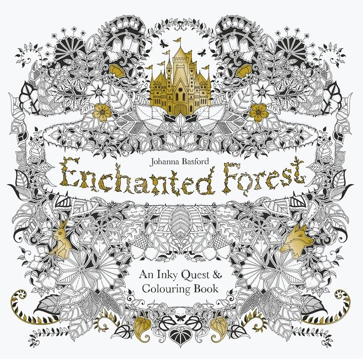 How To Draw An Enchanted Forest