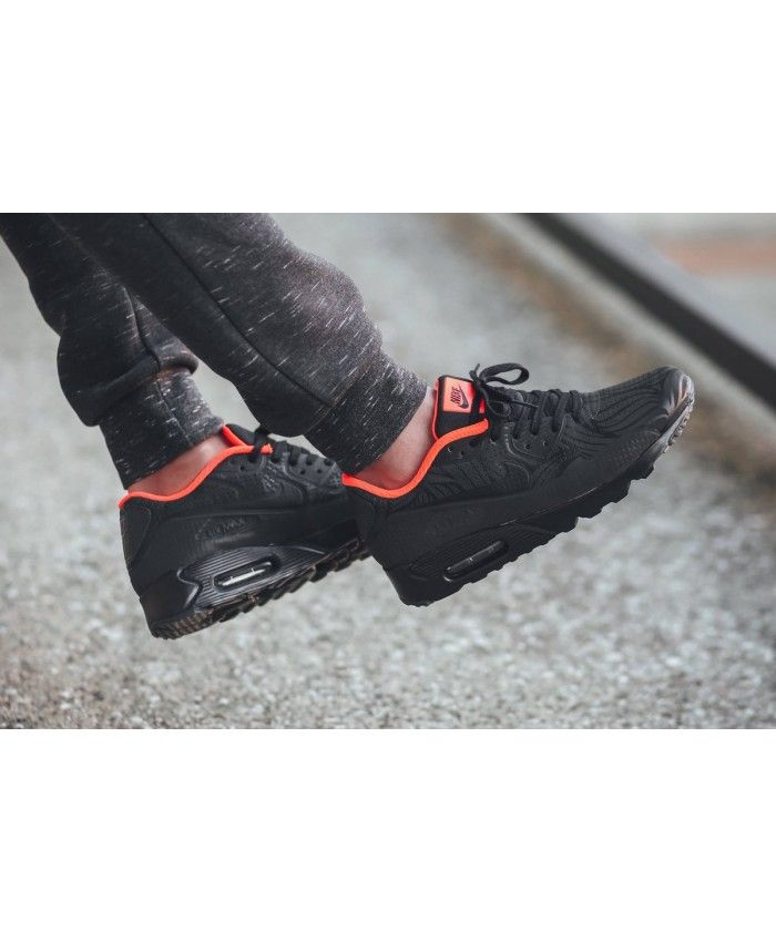 timeless design 70b55 e533f Mens Nike Air Max 90 Ultra Moire Fb Total Black Orange,Nike exclusive  sponsorship of romantic Valentine s Day.