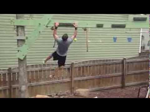 american ninja warrior obstacle course  youtube  diy
