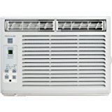 Amazon.com: hOme 5000 BTU Window Mounted Air Conditioner - Compact 7-speed Window AC Unit Small Quiet Mechanical Controls 2 Cool and Fan Settings with Installation Kit Leaf Guards Washable Filter - Indoor Room AC: Home & Kitchen