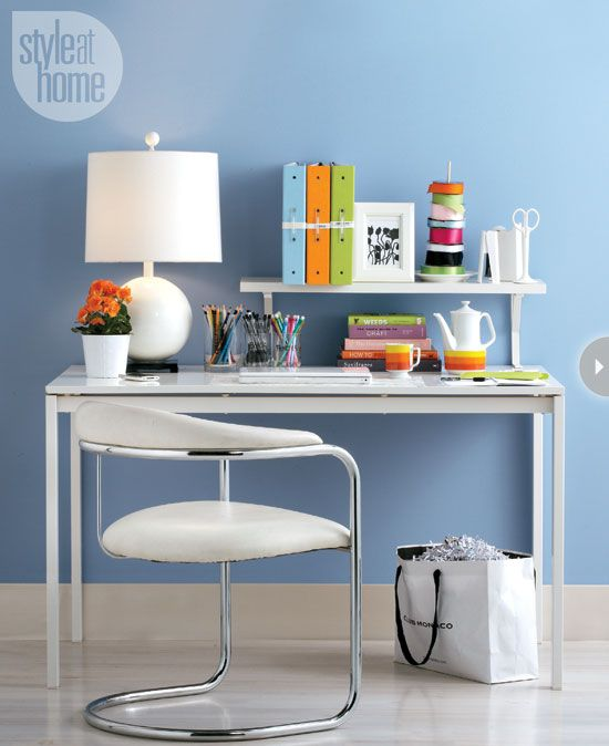 Small Space: Organizing The Home Office