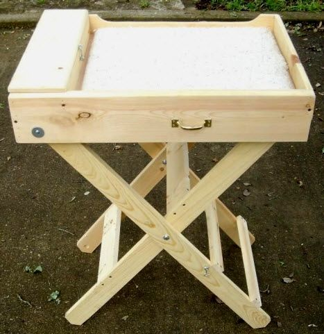 DIY Wood Grooming Table