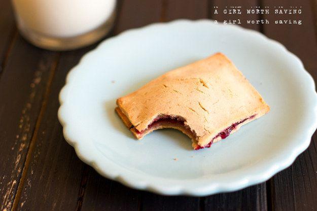 Paleo Raspberry Pop Tarts | 23 Grain-Free Breakfasts To Eat On The Go