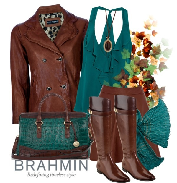 """""""How Do You Wear Your Brahmin?"""" by reneelyn on Polyvore"""