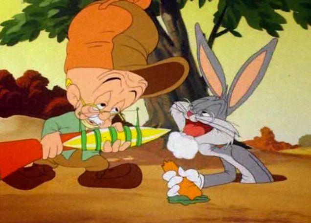 bugs bunny ads | In 1944 Warner Bros released the Bugs Bunny/Elmer Fudd cartoon The Old ...
