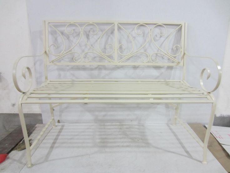 GRACIE BENCH - ANTIQUE WHITE