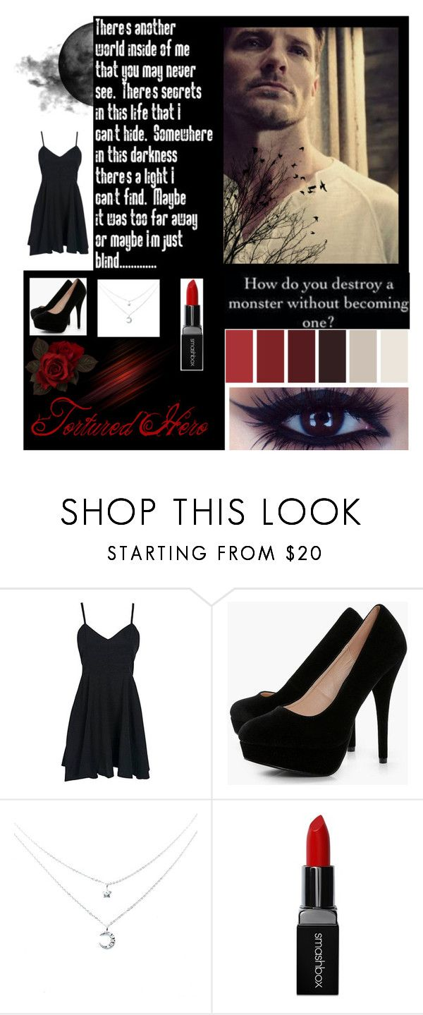 """Peter Hale"" by averiehoffpauir ❤ liked on Polyvore featuring Boohoo and Smashbox"