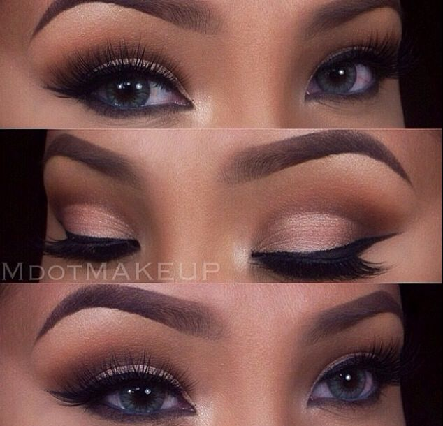 Soft Makeup- this look is good for hooded eyes #softeyemakeup #softsmokeyeye