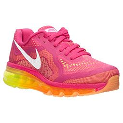 Summer Must Have :D Women\u0027s Nike Air Max 2014 Running Shoes Vivid Pink/White