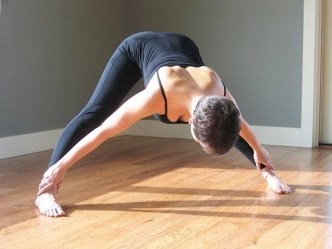 Home yoga practice for the hips with emphasis on adductors / abductors