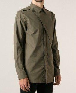 Helmut Lang Storm Flap Shirt